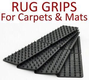 MAT Carpet RUG Grips - Non Slip Slide Anti Skid Hallway Runner Gripper Shag Pile