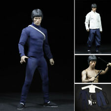 Bruce Lee Suit 75 Anniversary Chinese Kung Fu Clothes Set 1/6 Action Figure