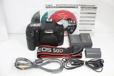 Canon EOS 50D 15.1MP Digital SLR Camera Black Body Only