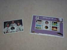 APOLLO 11 NEIL ARMSTRONG STAMP SHEET  & STAMPS ABSOLUTE MINT UNUSED