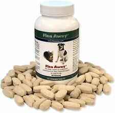 Flea & Tick Remedies, Mosquito Repellent for Dogs and Cats 100 Chewable Tablets