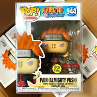 """Funko Pop Naruto : PAIN (ALMIGHTY PUSH) #944 Glows Special Exclusive """"MINT"""""""