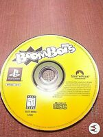 Sony PlayStation 1 PS1 PSX Disc Only Resurfaced  Boombots Black Label