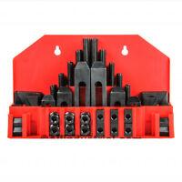 "58 Pc Pro-Series 5/8"" T-Slot Clamping Kit Bridgeport Mill Set Up Set 1/2-13"