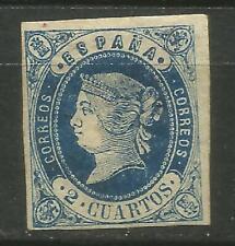 Spain Spain Isabel II Edifil #57 Mlh 1862