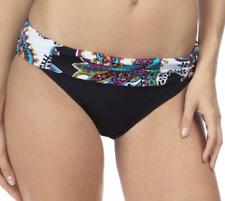 NWT Kenneth Cole Eclectic Adventure Sash Bikini Bottom Tummy Toner XL