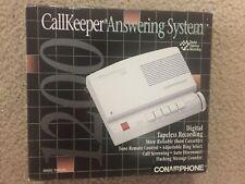 Vintage Conair Phone CallKeeper Answering Machine, NIB