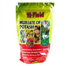 4 Lbs Muriate of Potash 0-0-60 Potassium For Vegetables Potatoes Carrots Onions