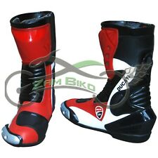 Ducati motorcycle boot Motorbike leather shoes