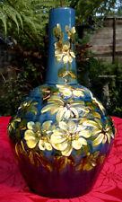 "RARO Antico Arts & Crafts spremuti Faenza Exeter art pottery vase 9.5"" ""Tall"