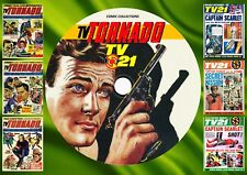 TV Tornado + TV Century 21 UK comics On DVD Rom