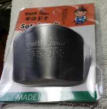 New listing New! Finger Guard Hand Protector Shield Stainless Steel for Chop Slice Cutting