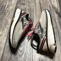 Brooks Ghost 11 Womens Gray Black Pink Training Running Shoes Size 8 Medium (B)
