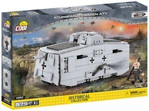 Cobi 2982 - Sturmpanzerwagen A7V (575pcs) - Building Blocks - Great War (WWI)