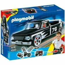 Play-mobile 4340 Pickup Truck Black Click and go Play (Damaged Box)