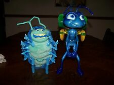 Disney & Pixar 1998 A Bug's Life Talking Animated Flik and Tuck Figures