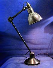LAMPE AJUSTABLE GRAS RAVEL  MODELE DE BUREAU 204 SUR SOCLE - OLD LAMP GRAS RAVEL