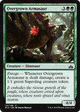 4x Overgrown armasaur (überwachsener armasaurus) Rivals of ixalan MTG