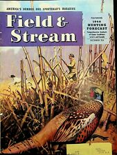 Vintage Field & Stream October 1946 Hunting Fishing Camping Sporting