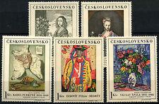 Czechoslovakia 1966 SG#1619-1623 Art MNH Set #D37117