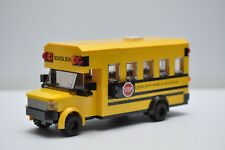 LEGO School Bus City Town Yellow Americans Short Custom Speed Champions