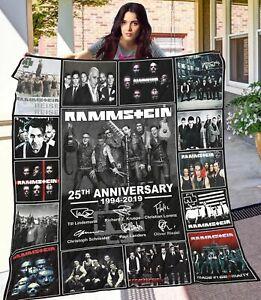 Rammstein Quilt-0489 Poly Cotton Premium Gift Idea Holiday Quilt Blanket