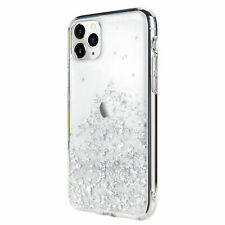 For iPhone 11 Pro - Switcheasy White Starfield Quicksand Style Case