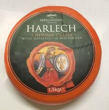 Harlech Cheese Horseradish and Parsley 1.5kg Suitable for Vegetarians