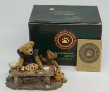 BOYDS BEARS & FRIEND BEARSTONE COLLECTION~JUSTINA & M. HARRISON SWEETIE PIE~1993