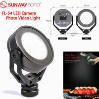 SUNWAYFOTO FL-54 LED Camera Photo Video Light Photography 3300-5600K NEWEST 1X