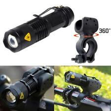 1200lm Cree Q5 LED Cycling Bike Bicycle Head Front Light Flashlight 360 Mount O*