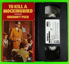 To Kill A Mockingbird VHS