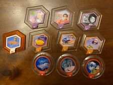 DISNEY INFINITY POWER DISC LOT of 10 Series 1 and Series 2