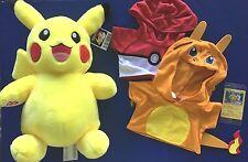 Build a Bear Pokemon LIMITED EDITION Pikachu Set Plush Toy w/Sound - New