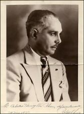 Rafael Trujillo - Autographed Signed Photograph 05/29/1937