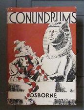 Conundrums Margherita O Osborne 1930