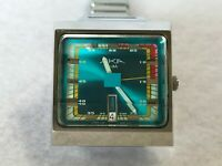 SEIKO Vintage AKA ALBA Square Quarts Watch V733-5A40 Rare Tracking Number