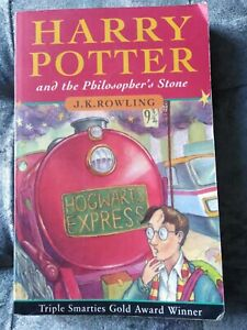Harry potter and the philosopher's stone Paperback Book (first edition)