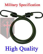 """NEUF 1 x 30 """" Bungee VERT MILITAIRE spécification cordon élastique 76cm"""