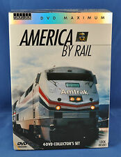America by Rail,, Greg Scholl Productions 4-DVD set 5 1/2 hours  (RR31)