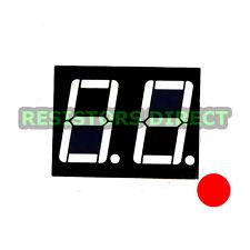 "10pcs 0.56"" Red 2 Digit LED 7 Segment Common Anode for Arduino / Raspberry Pi"