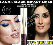 1  LAKME BLACK IMPACT EYELINER BLACK COLOR FAMOUS INDIAN BRAND USA SELLER