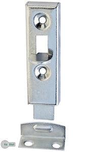 4 Möbelriegel Schubriegel Grendelriegel 50 mm gerade Verzinkt