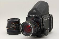 EXC+++ Mamiya RB67 ProS with SEKOR C 90mm,65mm Lens + Prism Finder  #558