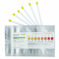 Water Hardness Test Strips Kit (30 STRIPS) Drinking Water Softner Testing Setup