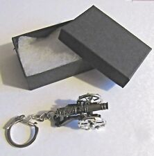 F) KEY-RING PEWTER AND DIECAST METAL MINI CANNON CIVIL WAR ARTILLERY GUN BATTLE