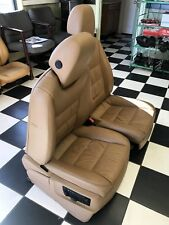 2003 - 2008 Porsche Cayenne Full Power Cashmere Leather Seats