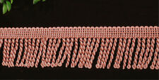 Fine Bullion Fringe 6cm Wide Curtain Sewing Tassel Fringe Trim 1m Red Wine