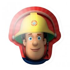 "Fireman Sam Head SuperShape Foil Balloons 23""/60cm h Birthday Party Decoration"