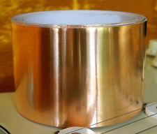 """Copper Foil Shielding Tape 10 FEET X 2 inches (10 ft X 2"""") Conductive Adhesive"""